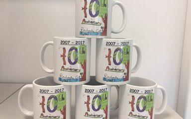 10 Year Anniversary Mug Order Form
