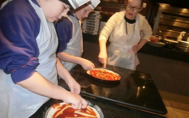 6I are now junior pizzaiolo's