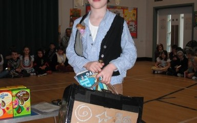 Congratulations to Torrin our World Book Day winner!