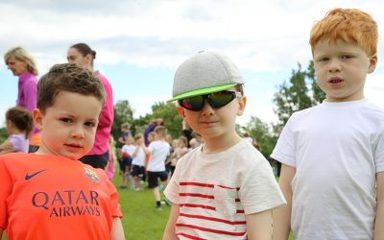 Sports week and transitions with nursery