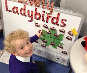 First week in nursery!