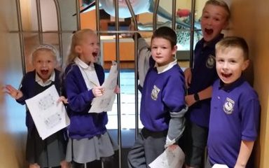 Yr 3/4's Trip to the Hancock Museum
