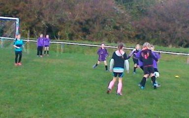 Girls Football Tournament