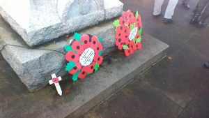 Key Stage 1 visit to Cenotaph in Rowlands Gill