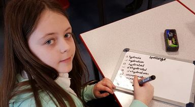 Serious spelling practice …