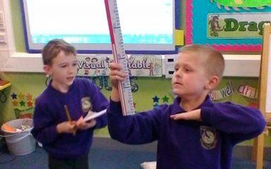 Science Investigation- are older children always taller?
