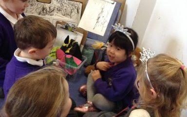 A creative and wet week in nursery…
