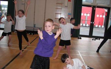 Dance Festival rehearsals