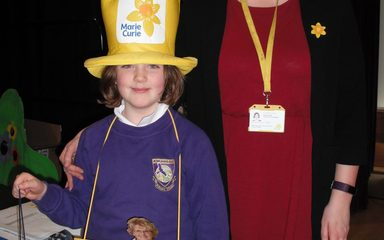 Marie Curie Month at Rowlands Gill Primary