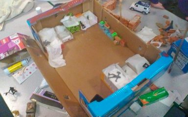 Stage 2 of Diorama Making Process! :-)