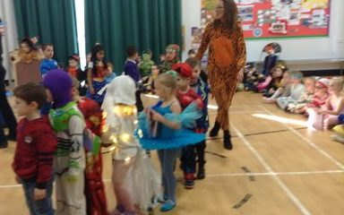 Reception World Book Day celebrations!