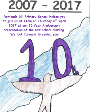10 year anniversary invitation thursday 6th april 2017 rowlands