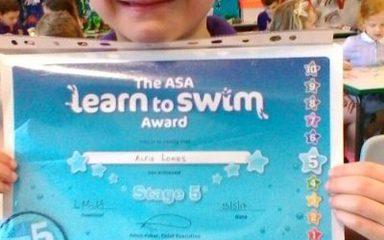 Alfie's Achievement!