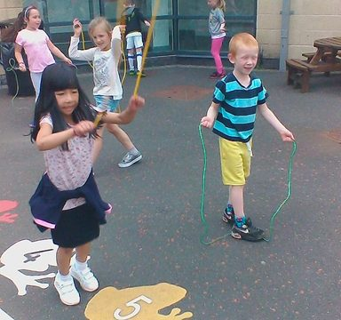 Key Stage One's Skipping Festival!