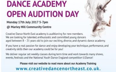 Dance Academy Auditions Information for Parents