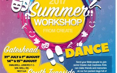 Create Summer Workshop