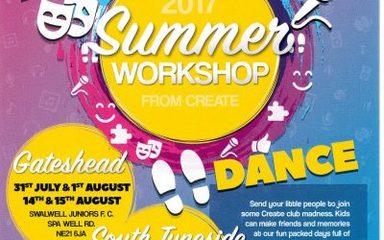 Create Summer Workshop