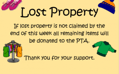 Lost Property Information