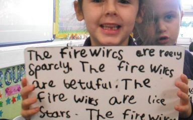 Fiery Adjectives!