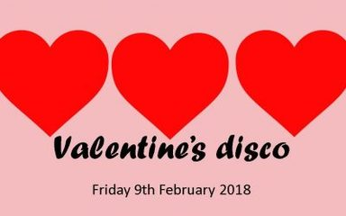 Valentines Disco Arrangements