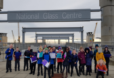 National Glass Centre visit