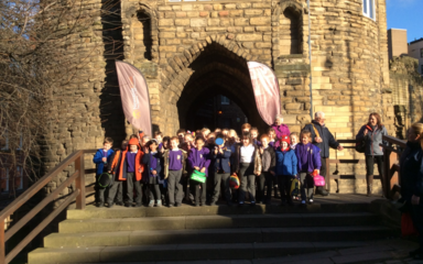 Newcastle Castle and Keep trip – 2D