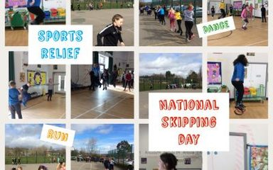 Year 5/6 Our Sponsored Mile – Sports Relief Challenge!