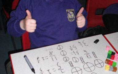 Exploring fractions.