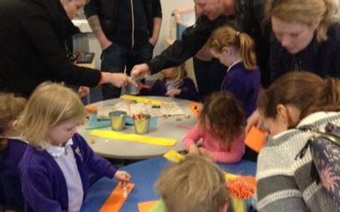 Easter crafts in Reception