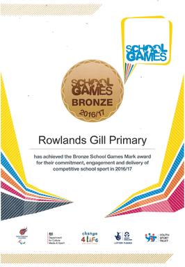 Bronze School Games Mark Award