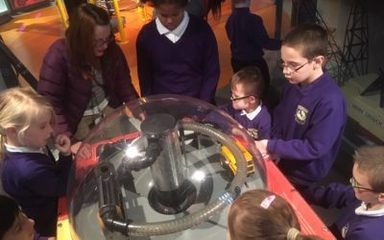ARMs class visit to the Discovery museum!