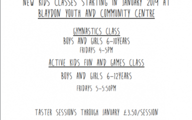 Gymnastics Classes!