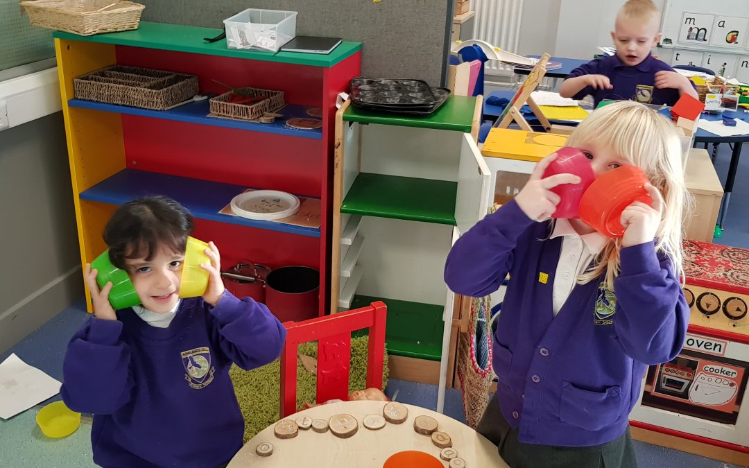 Fun in Reception in Spring